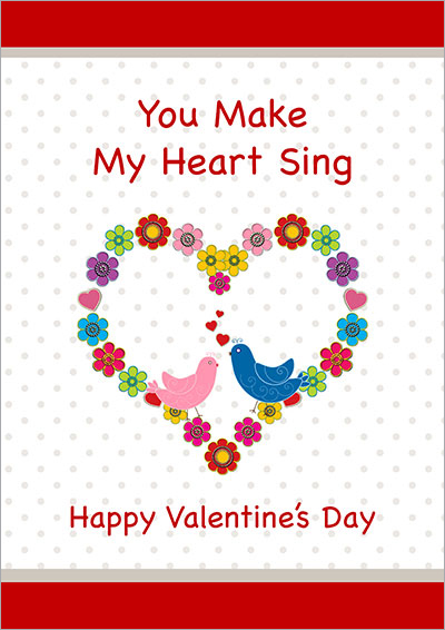 You Make My Heart Sing Card 012