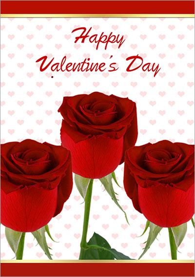 Happy Valentine's Day Roses 018