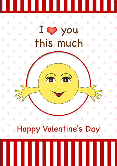 I love You This Much V-Day Card 034