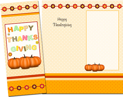 Thanksgiving Greeting Card 002