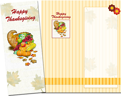 Thanksgiving Greeting Card 004