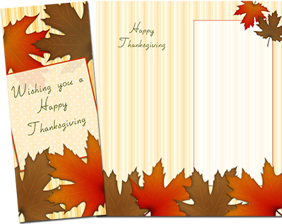 Thanksgiving Greeting Card 006