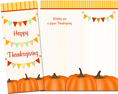 Thanksgiving Greeting Card 010