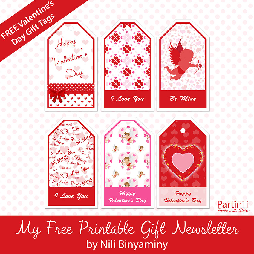 Free Printable Valentineu0027s Day Gift Tags