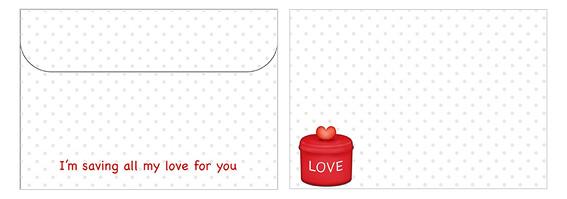 Printable Valentine's Day Envelope 16