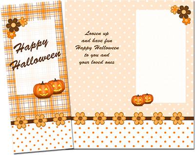 Halloween Greeting Card 001