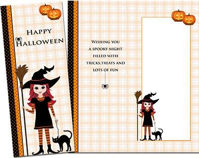 Halloween Greeting Card 004