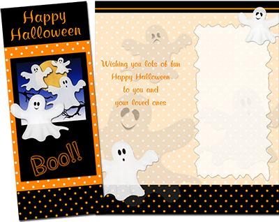 Halloween Greeting Card 005