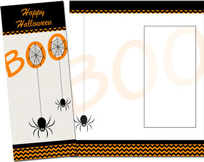 Halloween Greeting Card 006