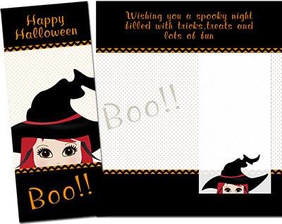 Halloween Greeting Card 007