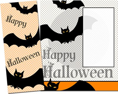 Halloween Greeting Card 010