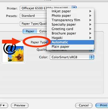 Paper Type Otion