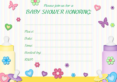 Baby Showe To Twins Invite 004