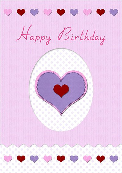 Loving Birthday Wish Card 021