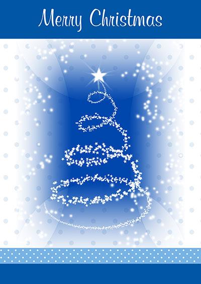Frosty Christmas Printable Card 005