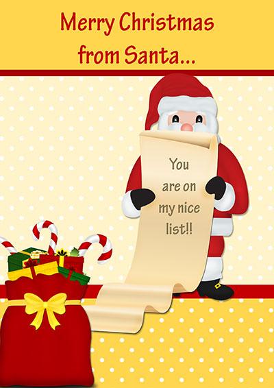 Merry Christmas From Santa 020