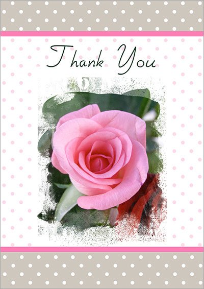 Free Printable Thank You Cards 006