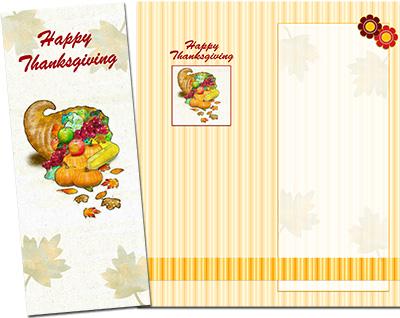Thanksgiving Greeting Card 004