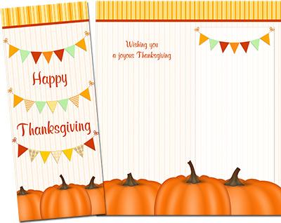 Thanksgiving Greeting Card 010